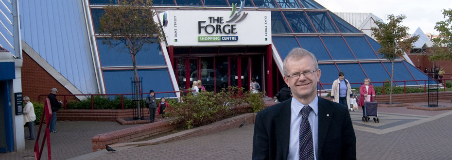 John Mason MSP – calling for a decent living wage